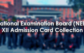 NEB XII Admission Card Collection